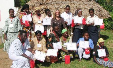 recent graduates of health education class