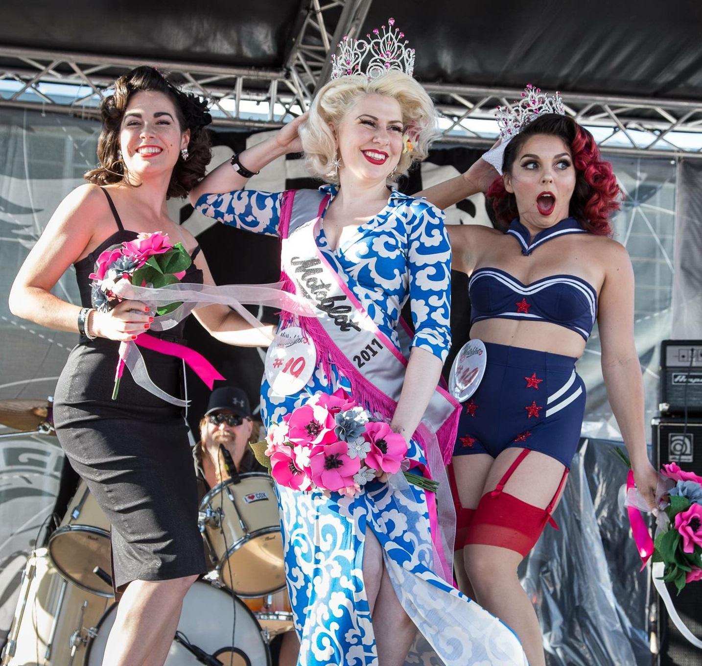2017 Miss Motoblot pinup contest winner