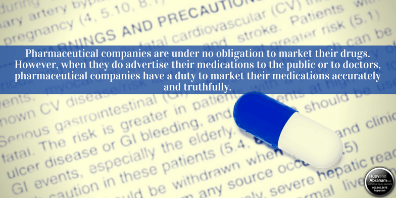 Incomplete or misleading medication warnings may make a drugmaker liable for your injury