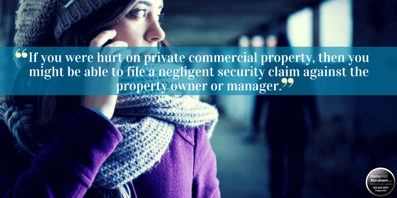 Negligent security incidents often occur at certain locations