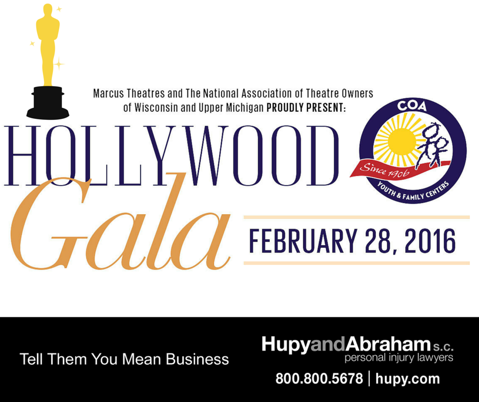 Flyer of Hollywood Gala