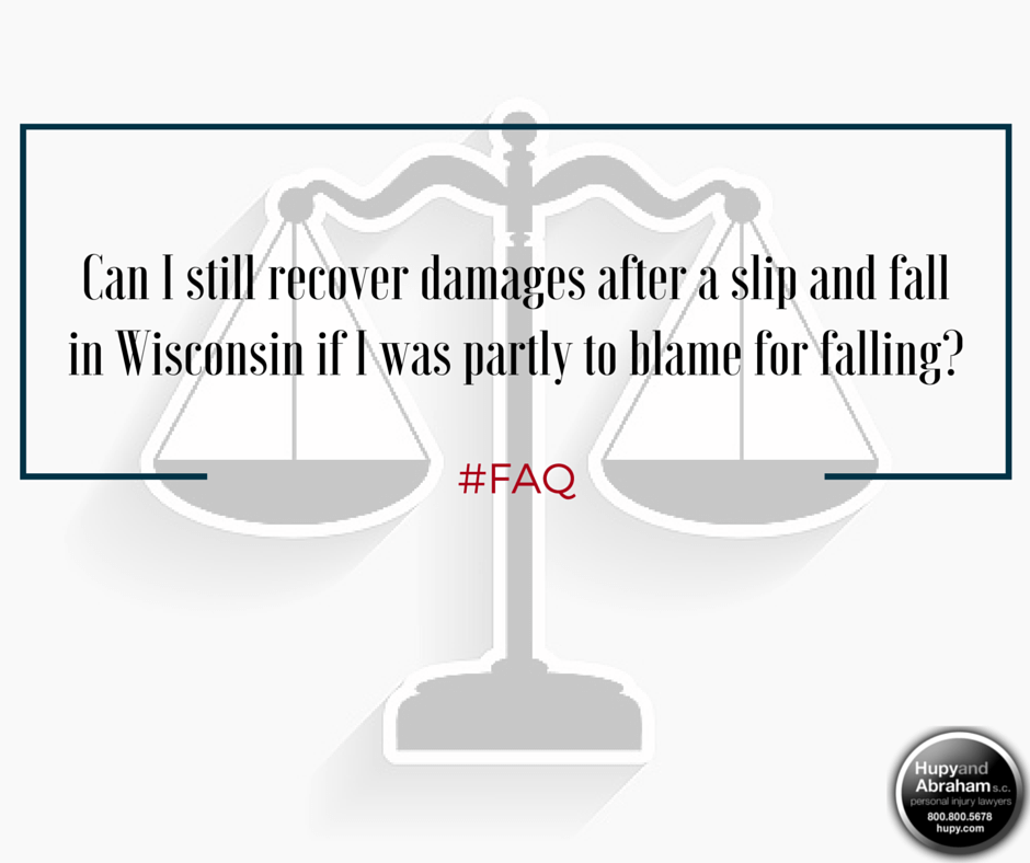 The balance of responsibility for a trip or fall accident will determine your possible financial recovery