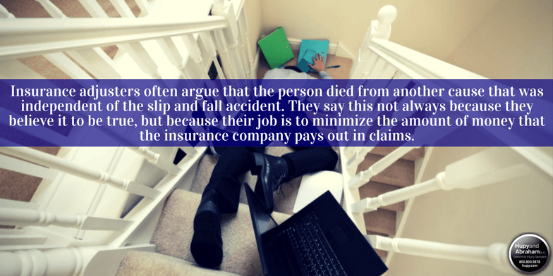 A slip, trip, or fall accident can become fatal all too easily