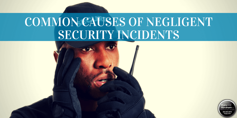There are several ways that negligent security can lead to injuries for a property visitor