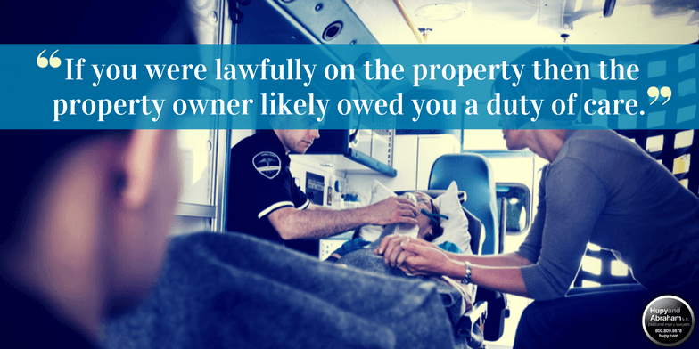 A negligent security attack may cause devastating injuries to you or your loved one
