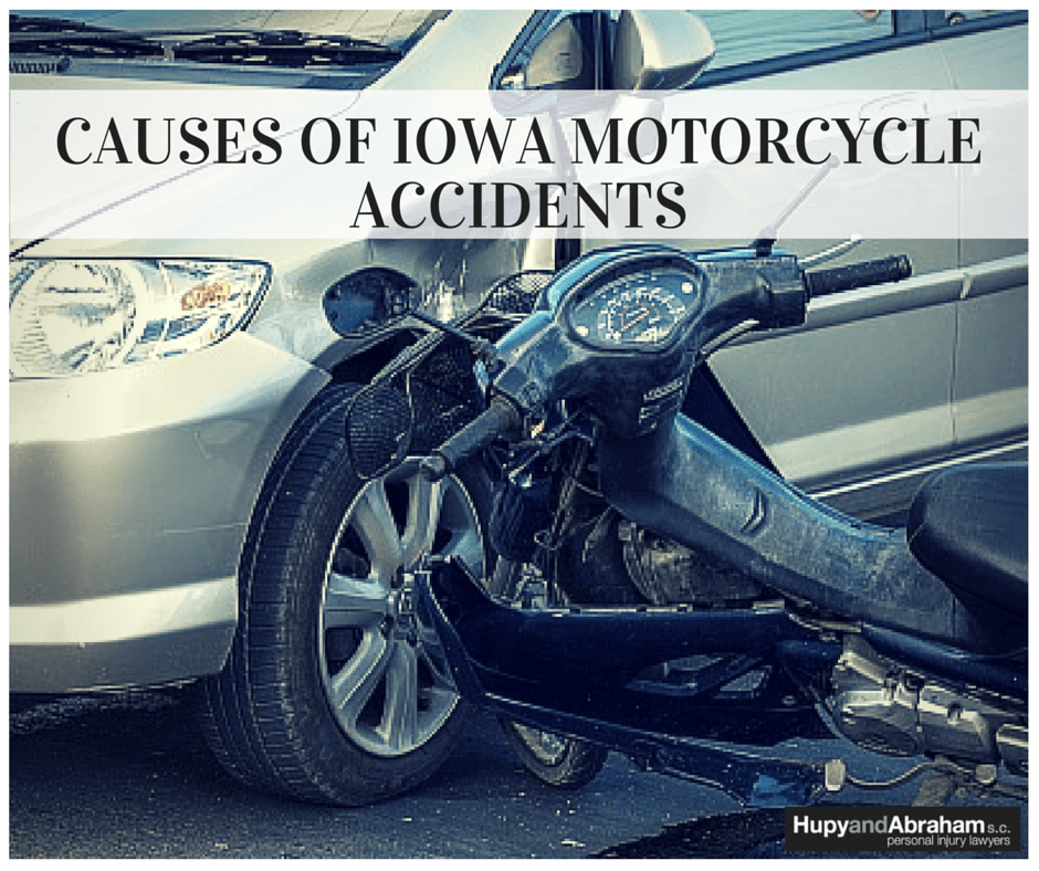 Learn to recognize the common causes of motorcycle accidents