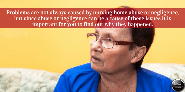 Nursing home negligence can take many forms