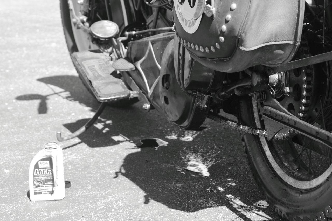 Closeup of H1-R Bike at Cannonball