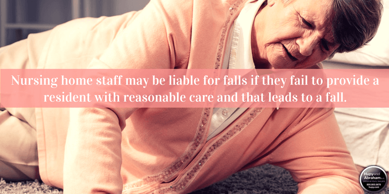 Nursing home falls often aren't simple accidents but the results of staff negligence.