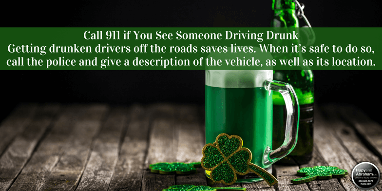 Read these tips for a safe and fun St. Patrick's Day.