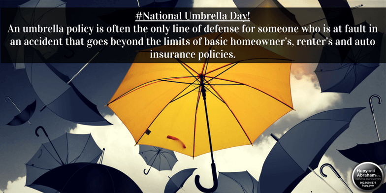 National Umbrella Day with tips