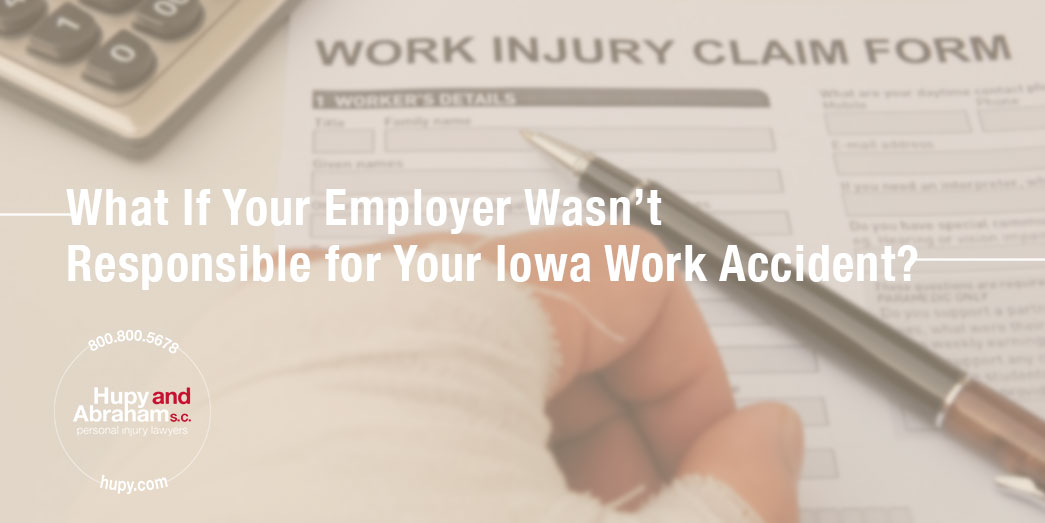 Pen and claim form for a work injury