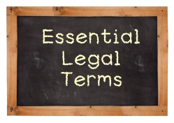 Learning key terms from personal injury law will deepen your understanding of your case