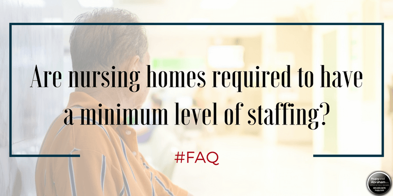 When nursing homes economize by hiring too few staff, residents are at risk for neglect or abuse