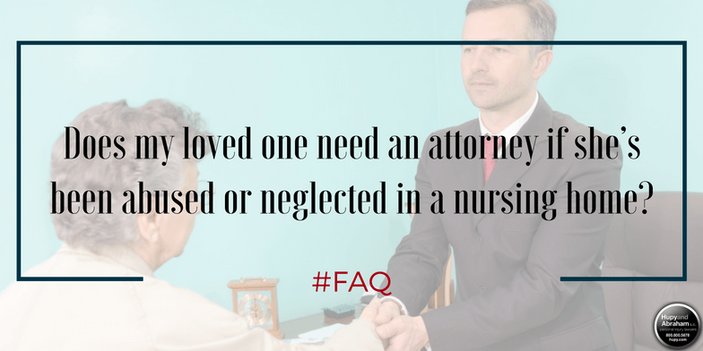 Your attorney will robustly pursue your interests over those of the nursing home