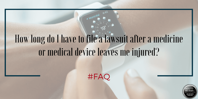 Time is very limited to file a pharmaceutical injury claim in Iowa