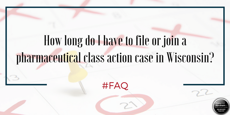 Your time to participate in a medical class action has very strict limits