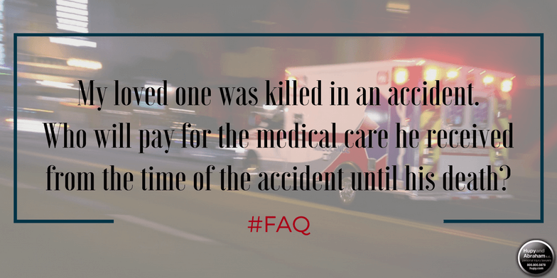 A wrongful death claim can recover the medical expenses from a fatal accident