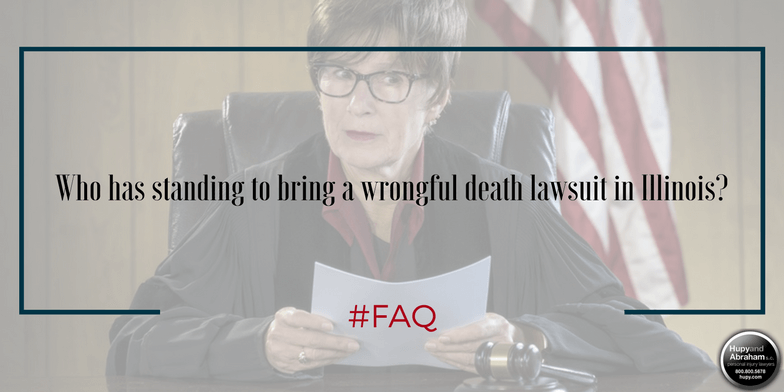 The court will determine if you have standing to sue for a wrongful death
