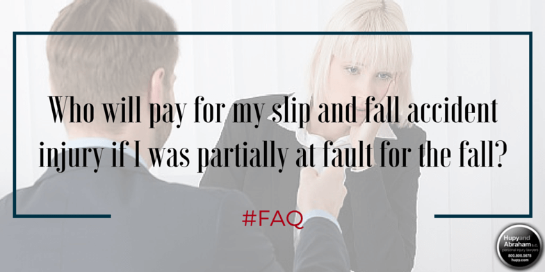 Are you partly to blame for your fall accident?