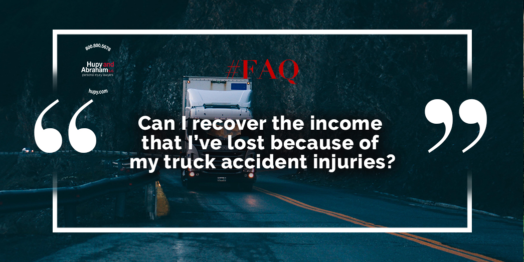Truck Accident Injury Recovery