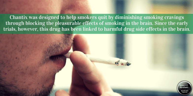 The stop-smoking drug Chantix is responsible for severe psychological side-effects