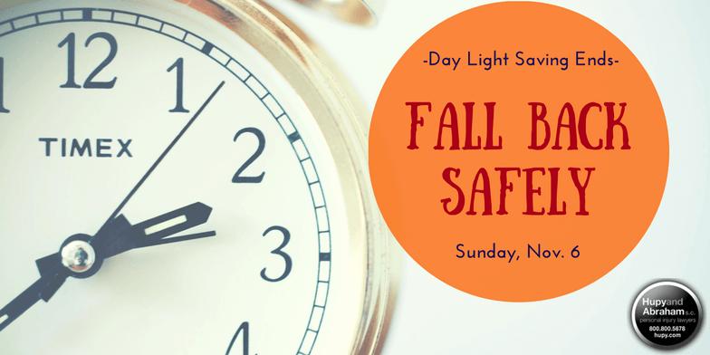 Fall Back Safely - Daylight Saving Ends