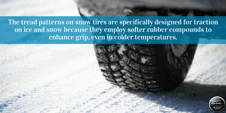 5 reasons you need snow tires if you live in areas that see snow and freezing temps.