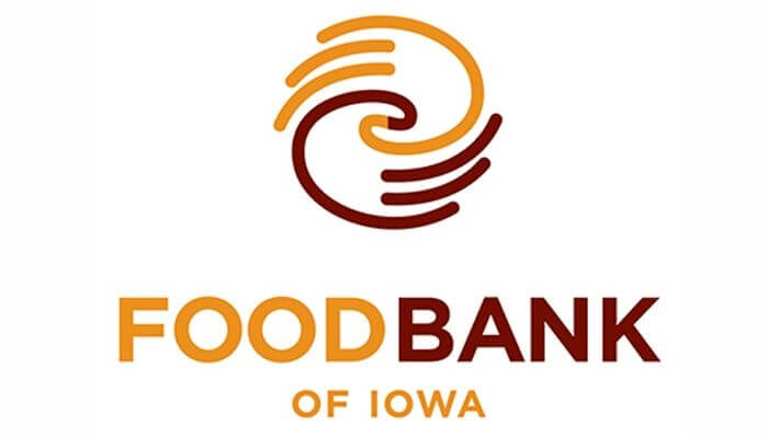 donation for food bank of iowa hupy and abraham s c