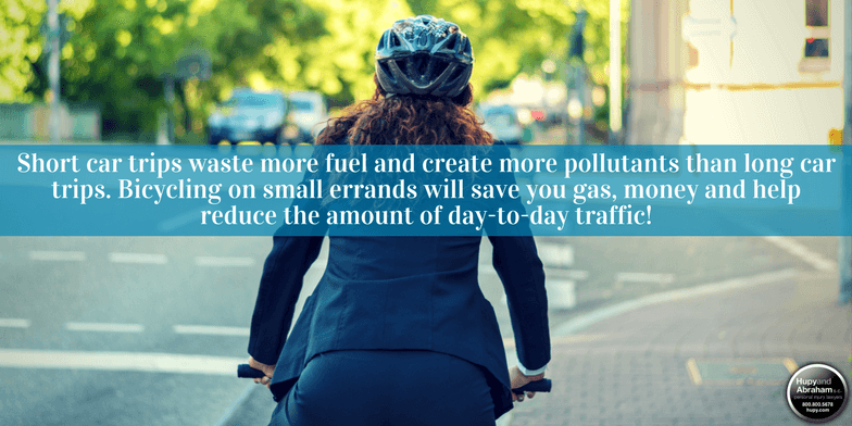 This Earth Day, take your bicycle out for a spin. Just remember these tips!