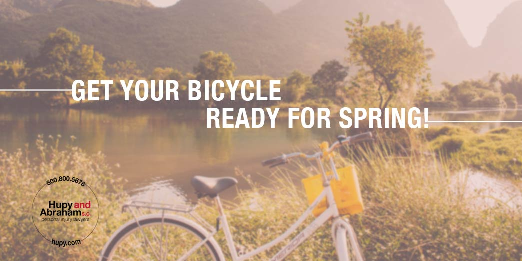 Check out our bicycle maintenance checklist so you're ready to safely get back on the road!
