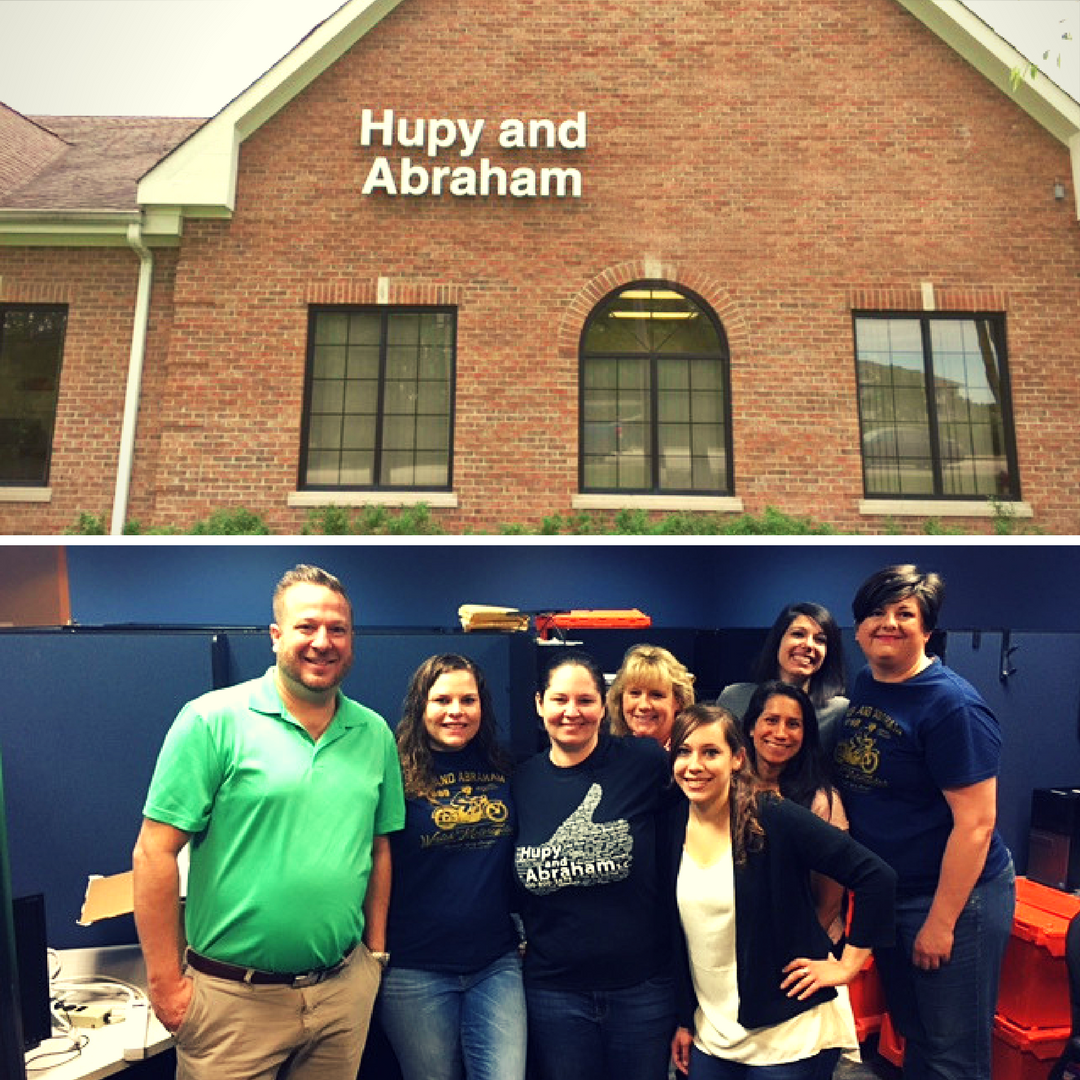 Hupy and Abraham staff at the Gurnee location