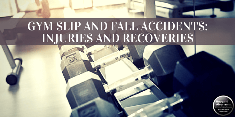 A gym or exercise club can conceal trip, slip, and fall hazards