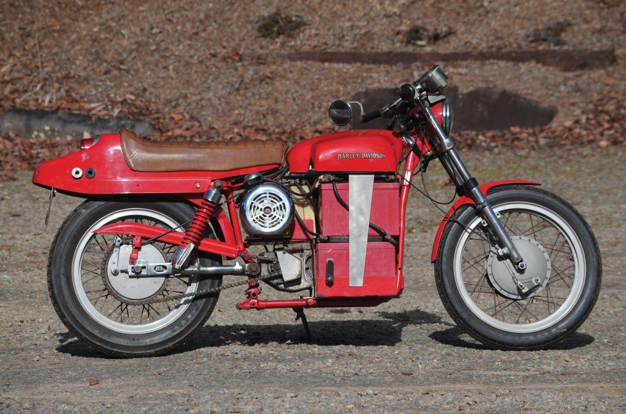 Corbin-Gentry Inc. 1974 street legal electric motorcycle