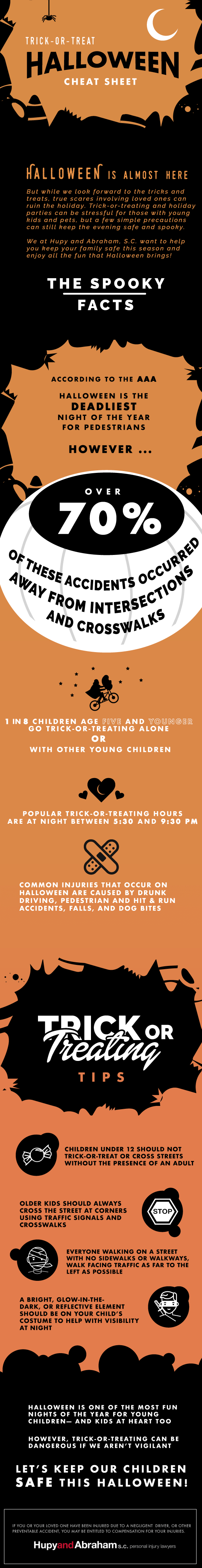 Halloween safety infographic!