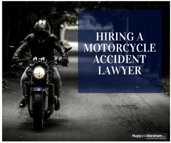 A motorcycle accident attorney can fight to get you the maximum compensation you deserve