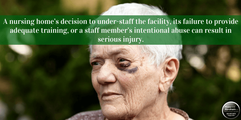 Nursing home negligence can cause serious injuries