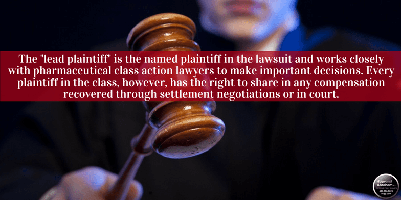Pharmaceutical class action cases must follow detailed rules