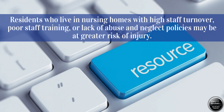 Use these resources to protect a loved one who has suffered nursing home neglect or abuse