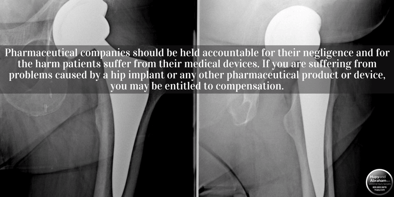Biomet hip implants have caused implant failure and metallosis