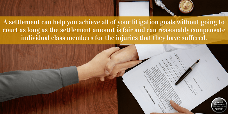 A class action settlement may be able to get you justice for your medical injury claim
