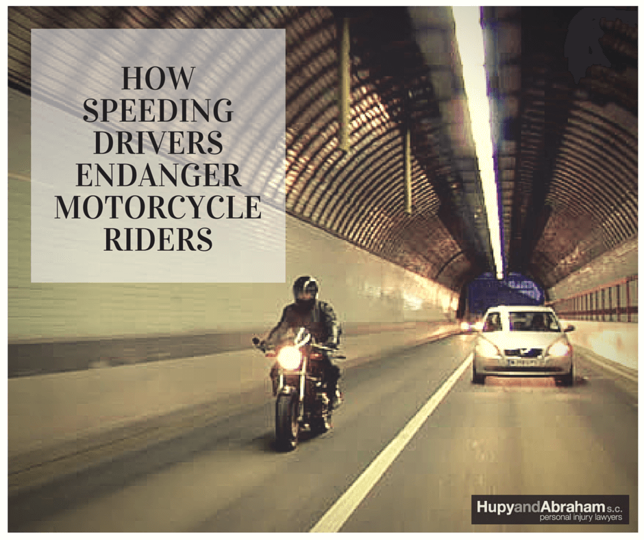 Motorcycle Speeding In Tunnel