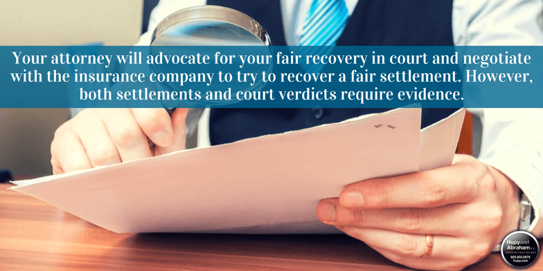 Your attorney will carefully examine the evidence in your case