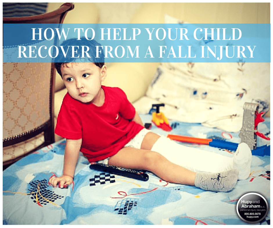 Take action to get your child the care he deserves after a fall or trip injury