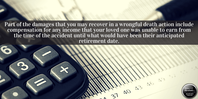 A wrongful death lawsuit may allow you to recoup lost income and other financial benefits