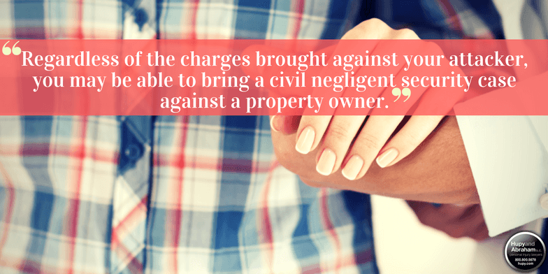 You may be able to demand a financial recovery from a property owner if his negligence enabled a sexual assault