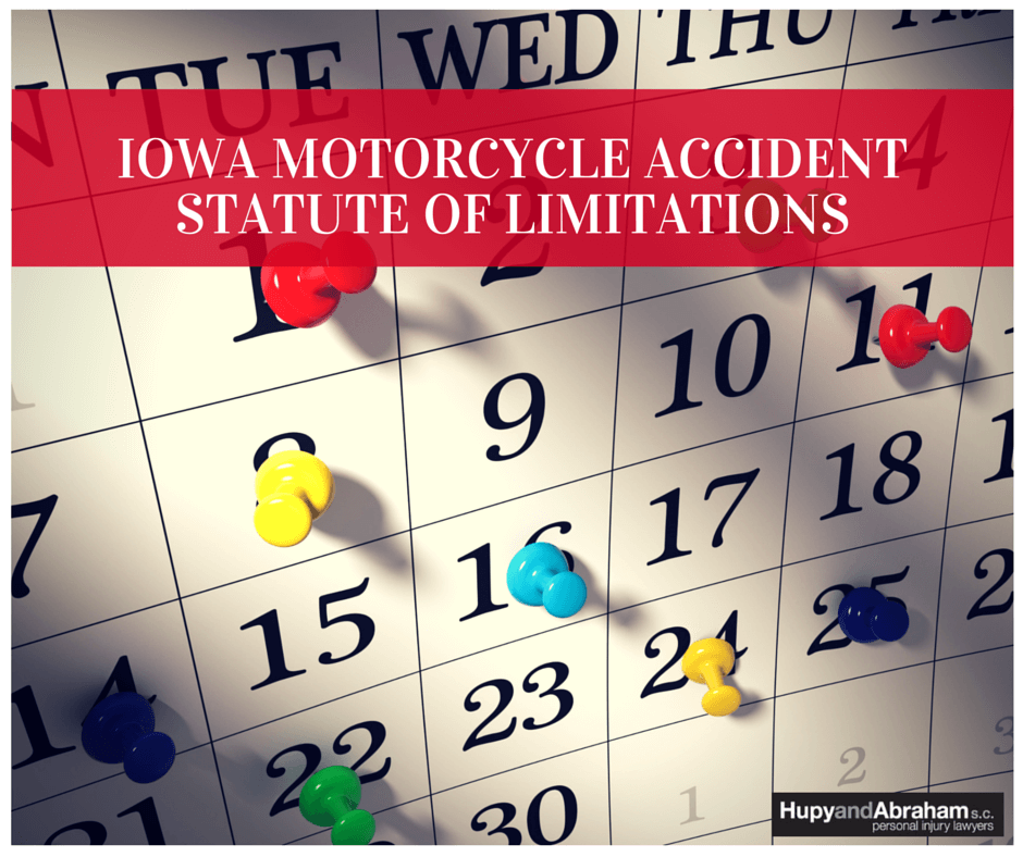 Iowa moto statute of limitations