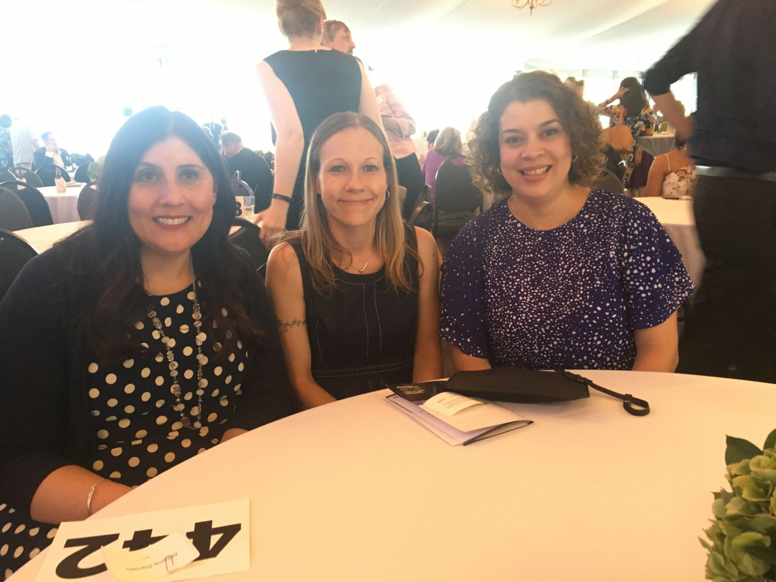 Hupy and Abraham employees attending the Hope for Families Focus of Annual Centro Legal Gala
