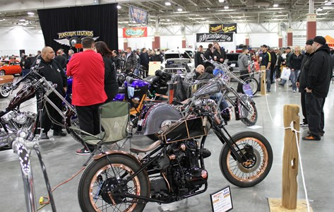 55th Annual World of Wheels Show Floor