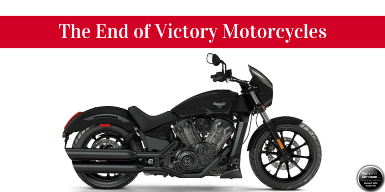 The end of Victory Motorcycles
